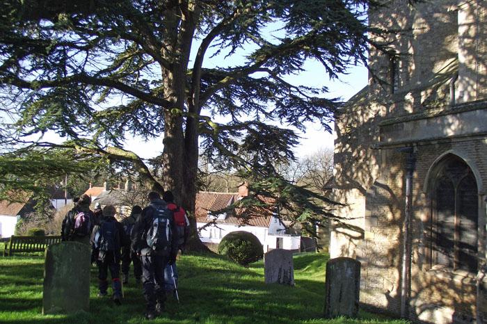 Swaffham Prior Churchyard