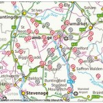 Walks Programme Map