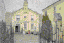 The building now housing Royston Museum in 1900 (reproduced with permission, Royston and District Local History Society).