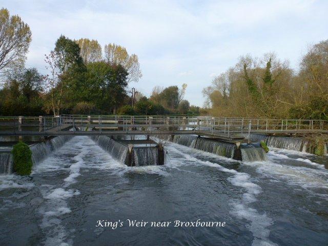 King's Weir near Broxbourne