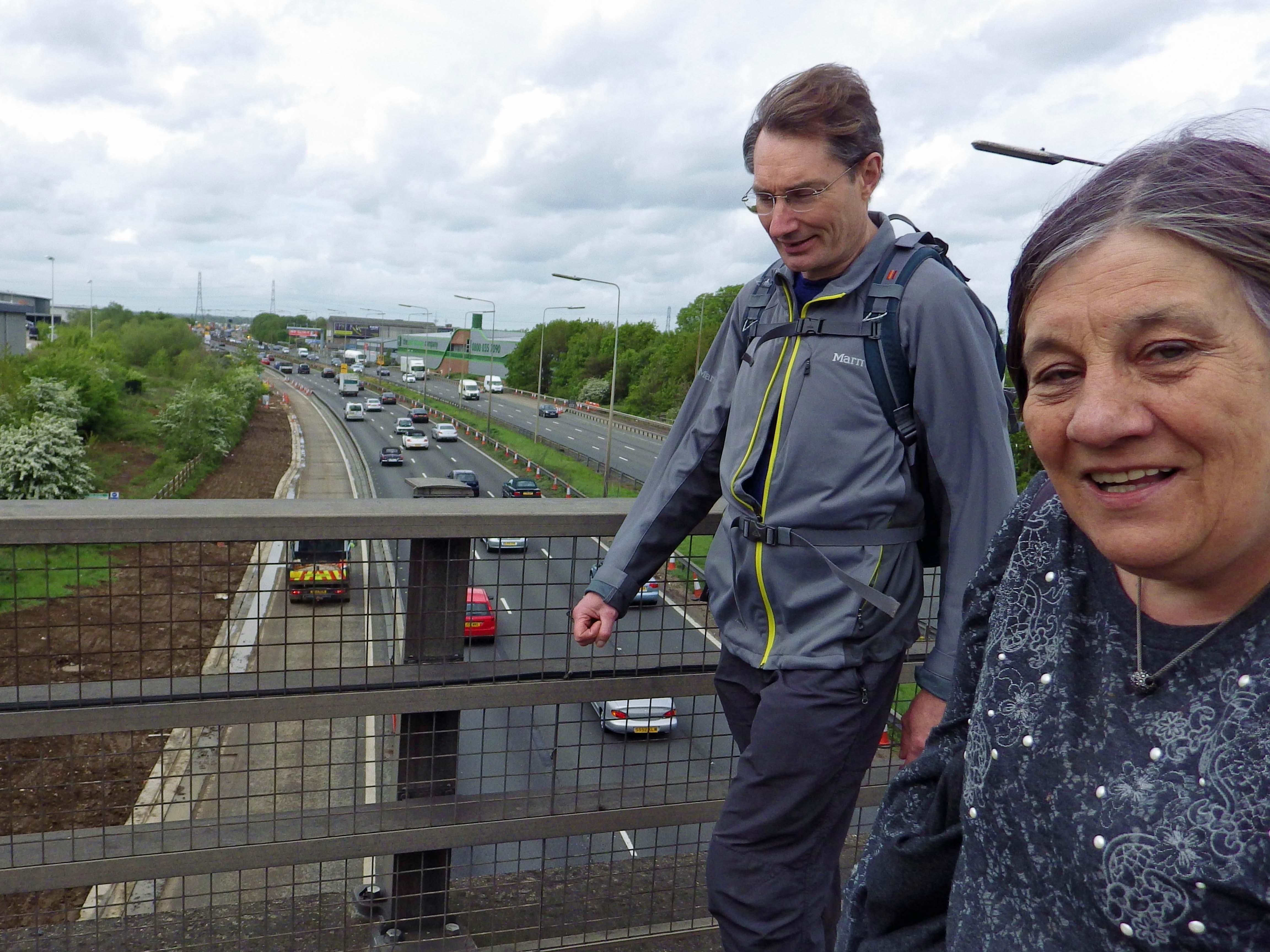 Crossing M25