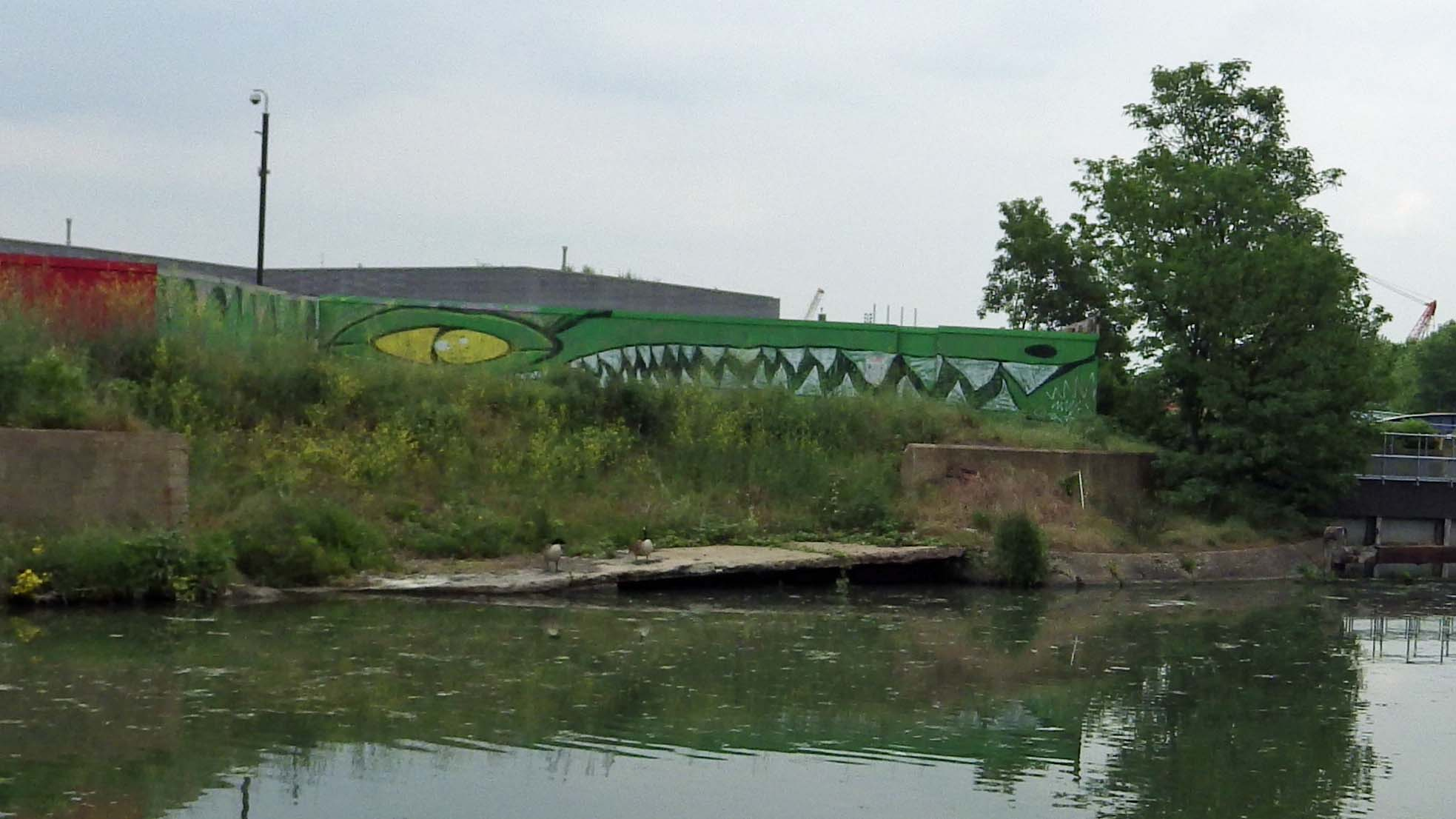 River Lea, Bow